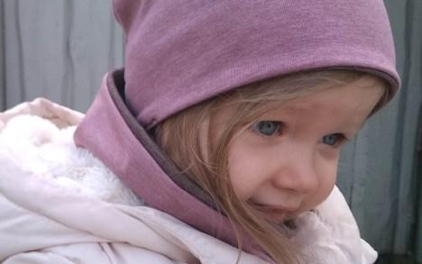 Moteriška kepurė pavasariui - Dvipusė Rausva-Rusva