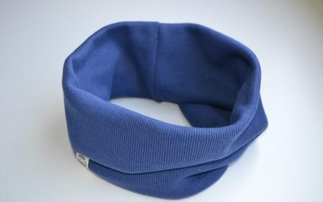 Mėlynas kaklo movas