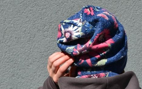 Rudeninė moteriška dviguba kepurė 'RUDUO'