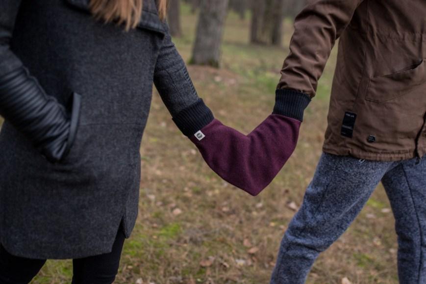 Dovana antrai pusėi valentino dienos proga - meilės pirštinė