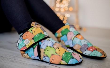 Tapukai su vilna - spalvoti katinukai