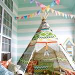 Ramybės zona vaiko kambary