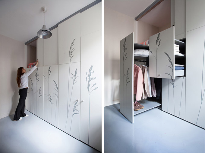 Kitoko-fills-tiny-8-sqm-parisian-apartment-with-hidden-1