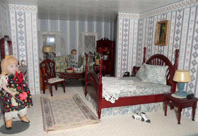 Victorian Farmhouse Nanas Dollhouses And Miniatures