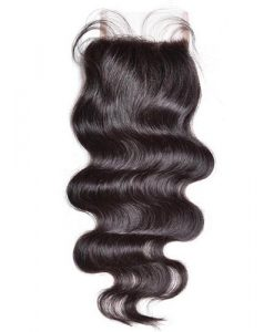 Brazilian lace closure body wave