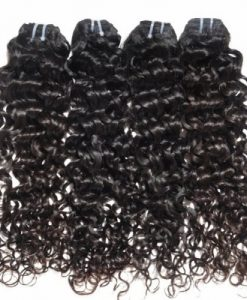 Brazilian hair Italian curl with frontal