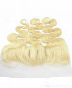 blonde hair body wave