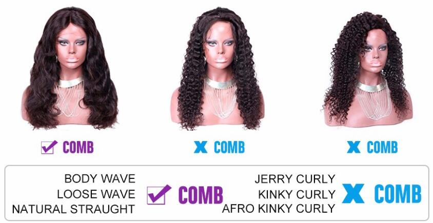 peruvian hair full lace wigs
