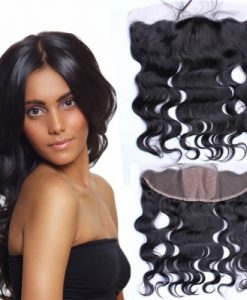 silk body wave frontal