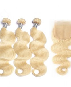 Premium Blond hair weave