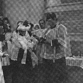 Baptism of Louisiana O'Leary