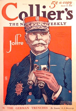 joffree, cover of collier's, 1915