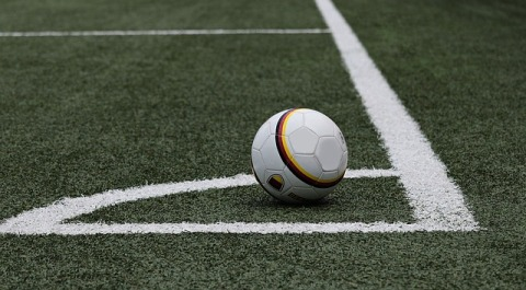 soccer ball, field