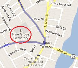 Pine Grove Cemetery, South Yarmouth