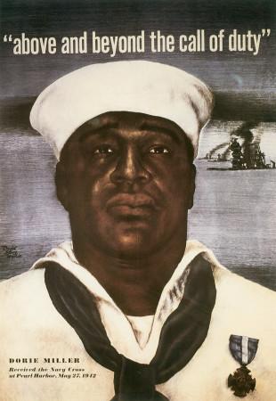 Dorie Miller, Navy recruiting poster