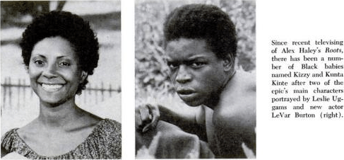 Kizzy and Kunta Kinte, Roots