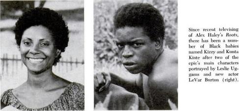 Kizzy and Kunta Kinte, Roots