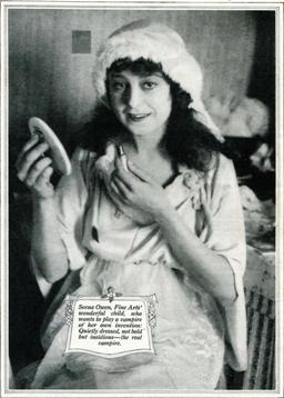 Seena Owen in Photoplay, Mar. 1916
