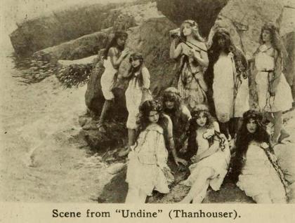 undine, movie, 1912, thanhouser
