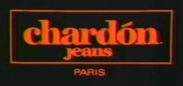 From a Chardon commercial, c. 1981