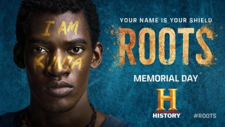 """I am Kunta"" ad, Roots, History Channel"