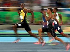 usain bolt, race, 100m, rio, olympics