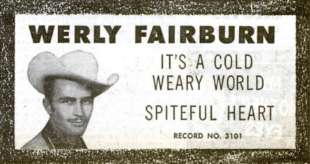 werly fairburn, 1955