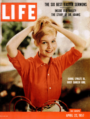 carol lynley, model, actress