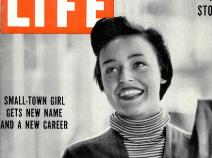 norma, jill, 1950s, name change