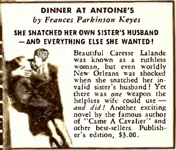 caresse in literary guild advertisement