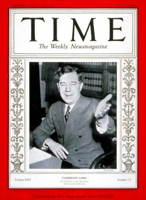 Huey on Time, Apr. 1935