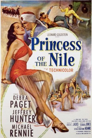 shalimar, debra paget, princess of the nile