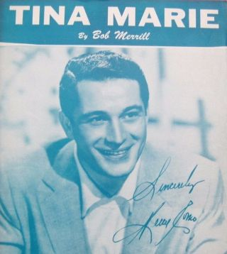 tina marie, 1955, bob merrill, perry como, music, song
