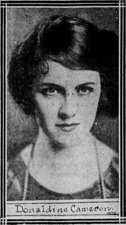 donaldine, baby name, 1922, news