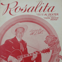 rosalita, song, baby name, 1940s,