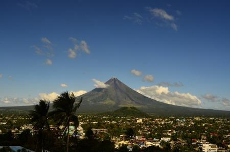 philippines, mayon, volcano