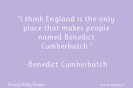 Benedict Cumberbatch quote