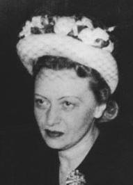 Chaya Mushka Schneerson (in the 1950s)