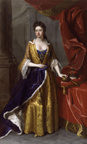 Queen Anne (reigned 1702-1714)