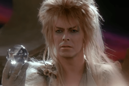 """The character Jareth from the movie """"Labyrinth"""" (1986)."""