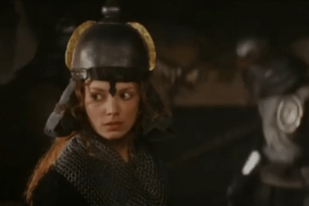 """The character Sorsha from the movie """"Willow"""" (1988)."""