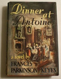 dinner at antoines, book, 1940s, caresse, baby name