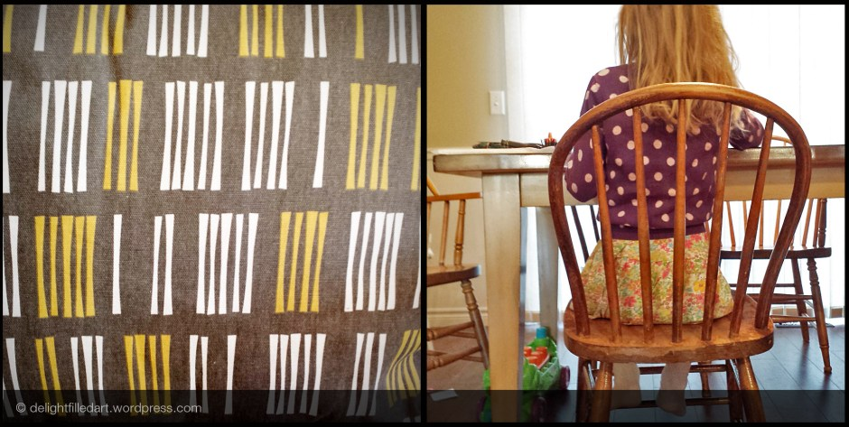 patterned cloth and clothing