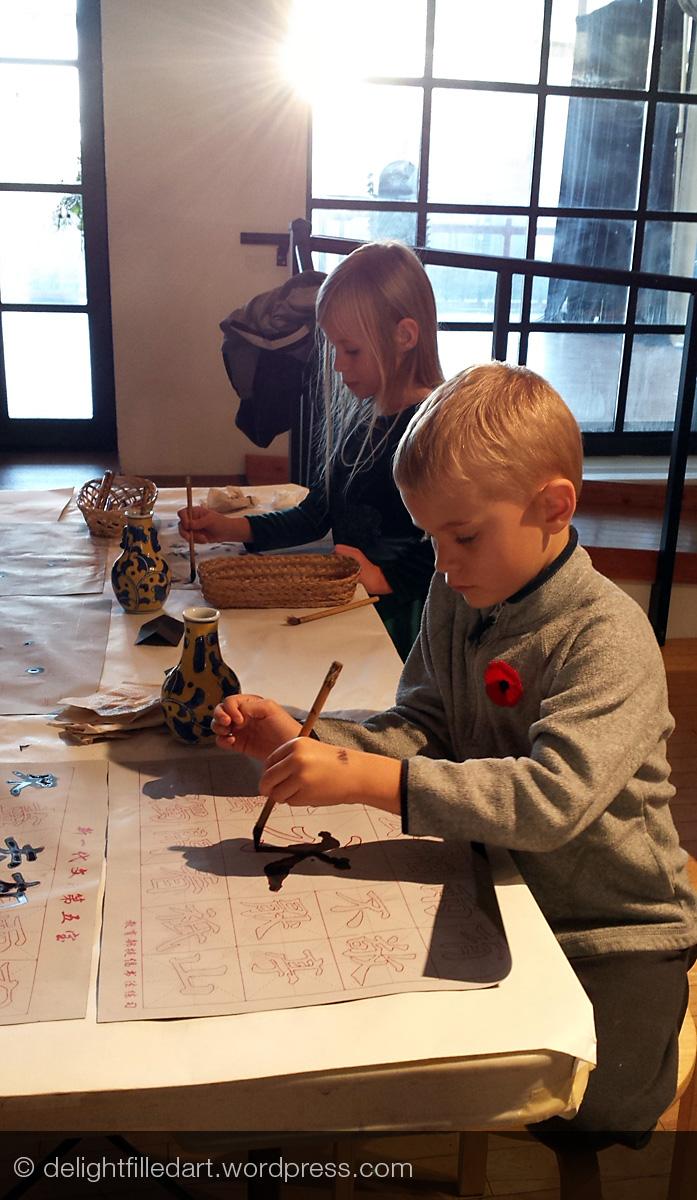 Birthday at Vancouver Art Gallery: Jock MacDonald and dragons
