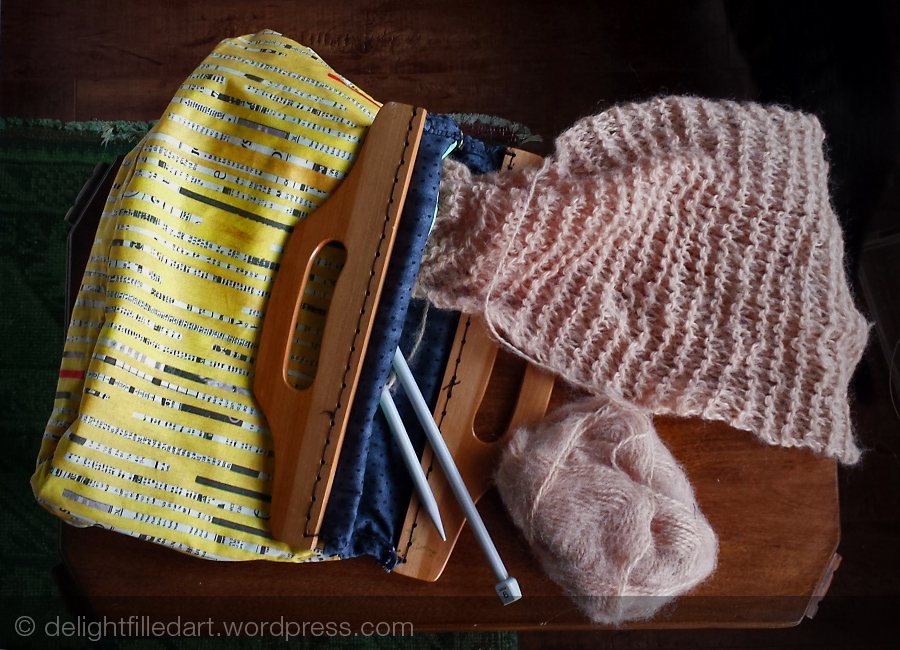 Sewing project: knitting bag