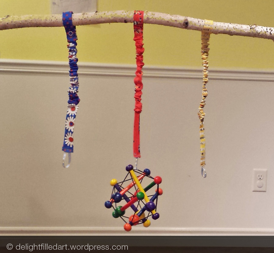 toy straps DIY