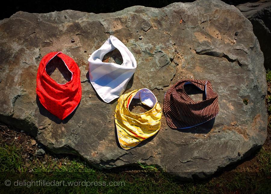 handmade bandana bibs