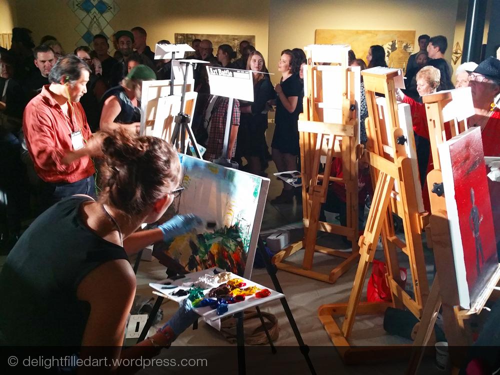 Art Battle Abbotsford