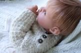Annie in the Alpaca Pullover