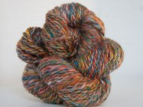 Handspun Merino Wool and Silk